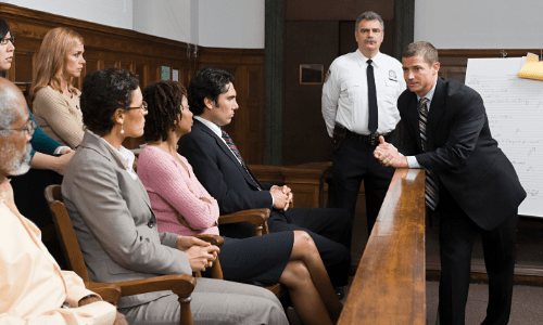 Lawyer and Jury