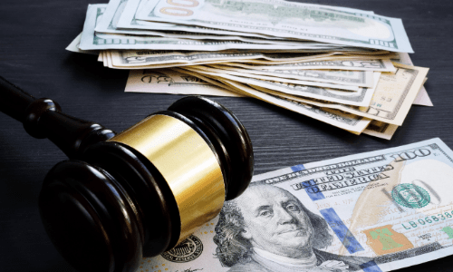 Gavel and Money Bills